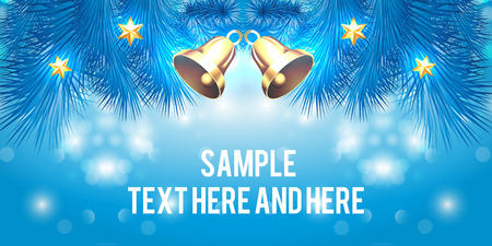 event party: creative banner design Christmas party and new year event Illustration