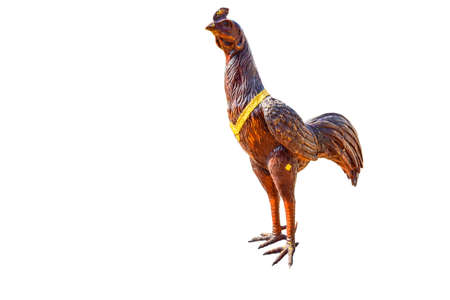 One chicken statue Twelve Zodiac. Stock Photo
