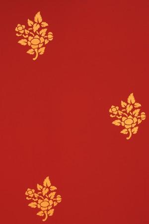 Buddhist flower golden wall art  photo