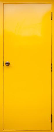 Yellow Door Stock Photo - 7702811