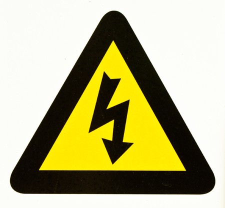 danger high voltage Stock Photo - 7702814