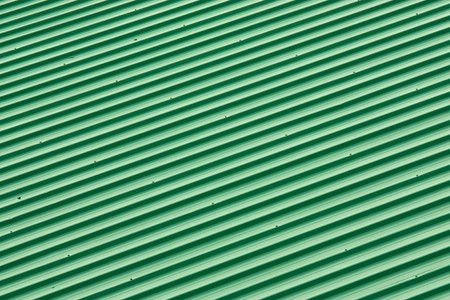 Diagonal Strip Green Roof Top Pattern photo