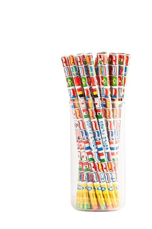 Bunch of Pencils in A Bottle photo