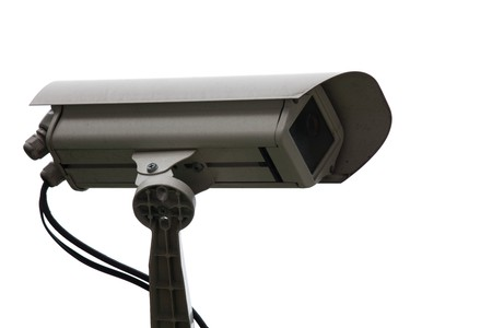 CCTV Camera Close up photo