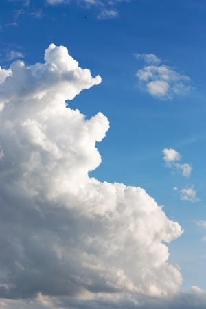 Cloudy Sky Background photo