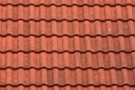 Modern tiles roof Stock Photo