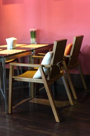Restaurant Table Interior photo