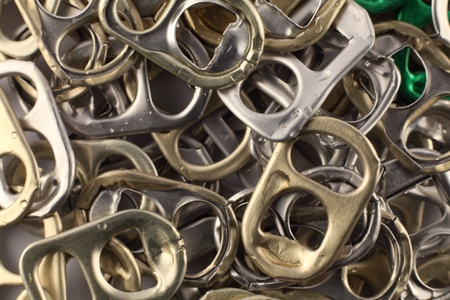 Recycle Aluminium Ear Can photo