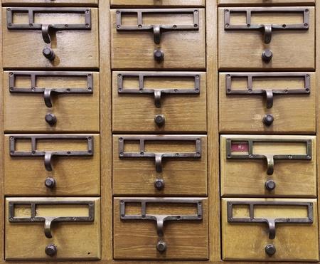 Wooden Document Locker Imagens