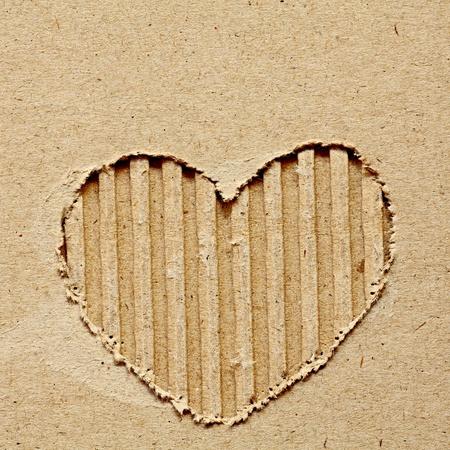 Cardboard Heart photo