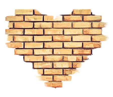 worn structure: Heart Brick