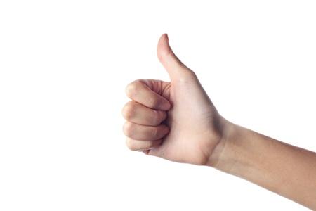 Hand Thumb Up photo