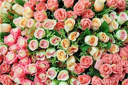 Artificial Rose Bouquet photo