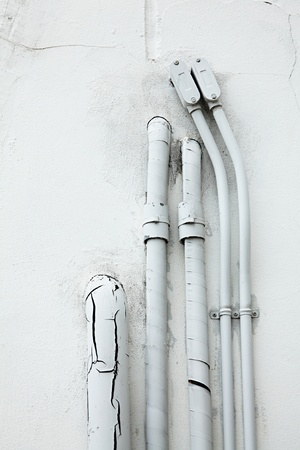 Pipe Through Wall photo
