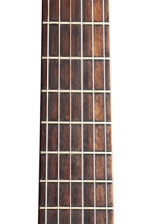 fretboard: Part of Guitar Stock Photo
