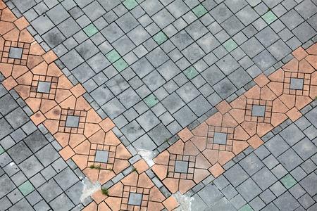 adoquines: Piso de mosaico