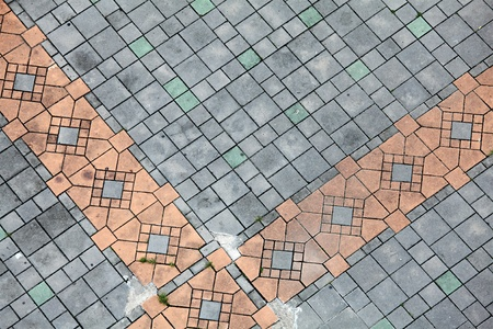 pavers: Tile Floor Stock Photo