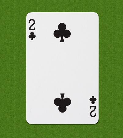 cards deck: Club  Stock Photo