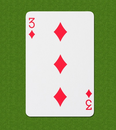 Play Card Diamond Stock Photo - 13283026