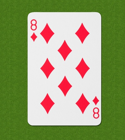 Play Card Diamond photo