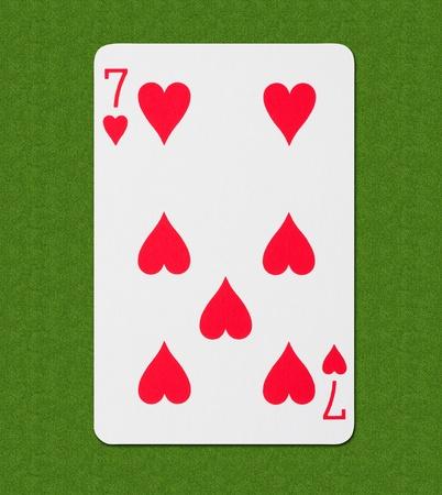 straight flush: Play Card Heart