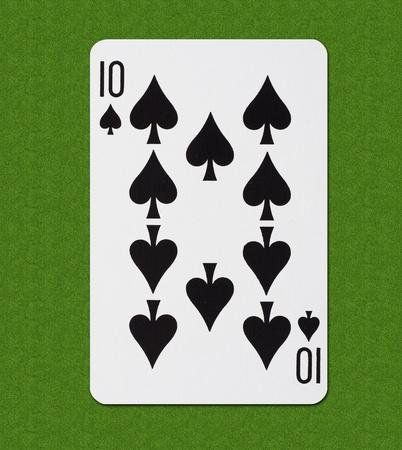Play Card Spade Stock Photo - 13283056