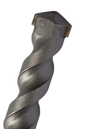 perforate: Big drill   Stock Photo