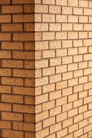 castle interior: Brick wall corner Stock Photo