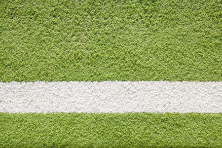 pasto sintetico: Línea blanca astro Campo de fútbol