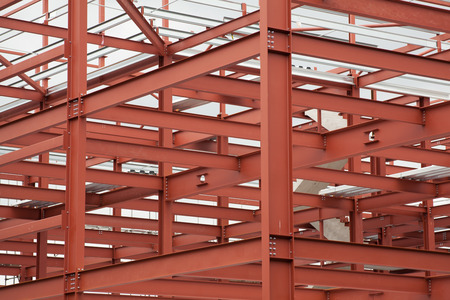 Baustruktur Standard-Bild