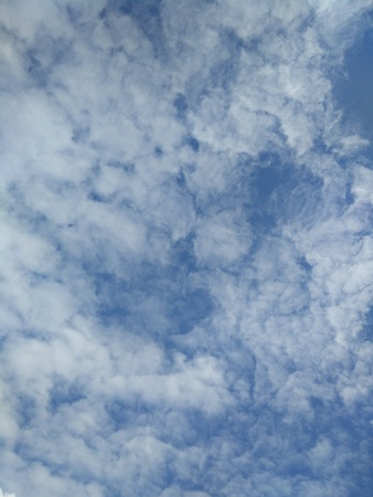 bluesky: Clouds on the sky