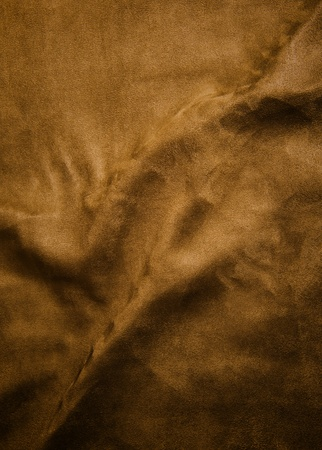 Wrinkle surface of brown Velvet  Useful as background for design-works  photo