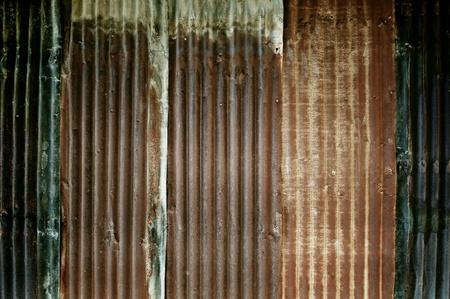 zinc: Dirty zinc wall texture