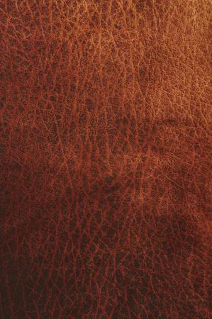 Dark red leather texture closeup Stock Photo