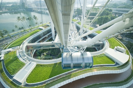 structure of Singapore flyer Stock Photo - 13226386