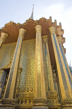 structure of temple in Thailand