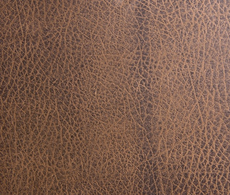 Brown leather texture closeup Stock Photo