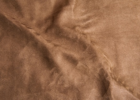 Wrinkle surface of brown Velvet Stock Photo - 13235985