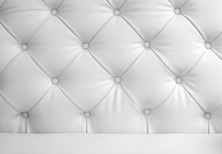 White leather chair Stock Photo - 13601018
