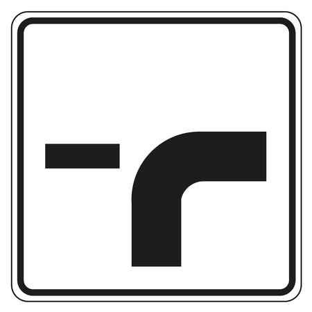 turning off road priority