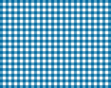 checker: Tablecloth - Blue White