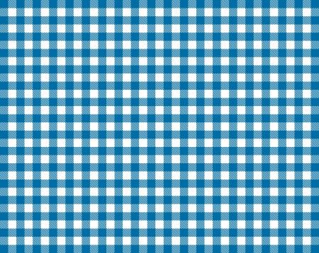 Tischdecke - Blau Weiß