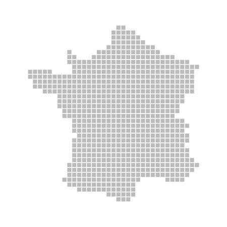 nice france: Pixel map - France
