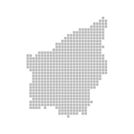 Pixel map - San Marino Stock Photo - 13752224