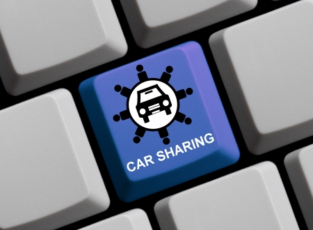 Carsharing online Stock Photo - 14577985
