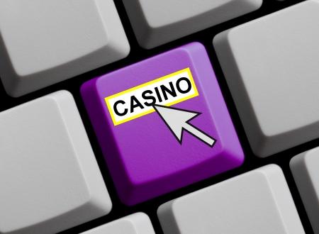 Keyboard - Mouse Arrow Casino photo