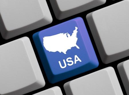 Keyboard Map - USA photo