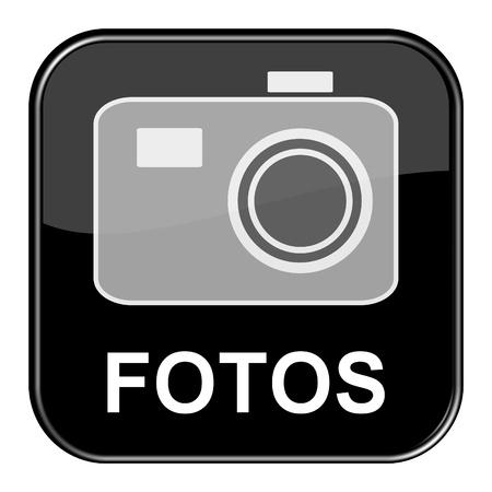 seem: Glossy black button - Photos
