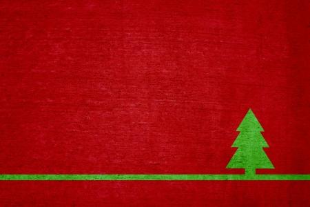 Christmas Card - Grunge Wall photo