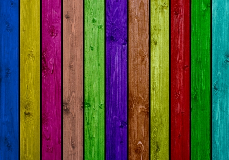 Colorful wooden boards Stock Photo - 14553804